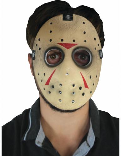 Demi-masque Jason Vendredi 13™ adulte-1