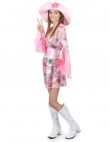 Déguisement seventies hippie femme-1