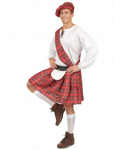 Déguisement écossais homme -1