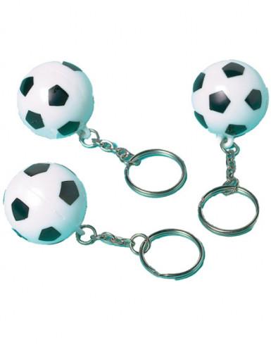 12 Portes clefs ballons de football