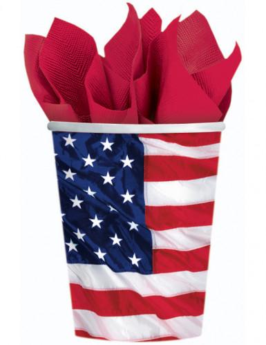 Gobelets drapeau américain