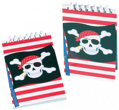 Mini bloc notes pirate