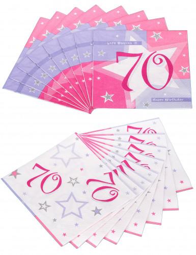 16 Serviettes en papier Ages33 x 33 cm-2