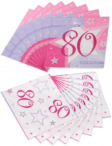16 Serviettes en papier Ages  33 x 33 cm-3