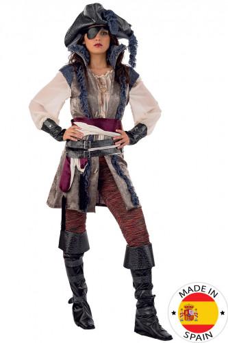 Déguisement pirate luxe femme - Premium
