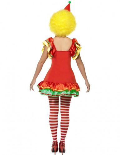 Déguisement clown joyeux femme -1