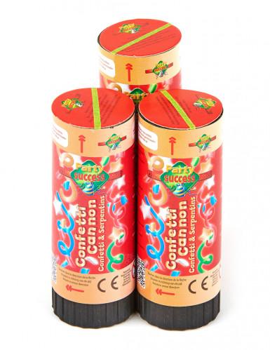 3 Petits canons à confettis 11 cm-1