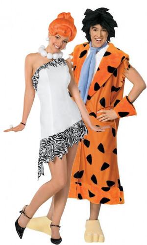 Déguisement couple Wilma et Fred Pierrafeu™