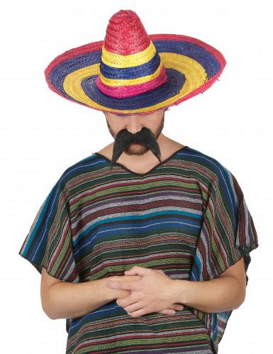 Sombrero multicolore adulte 50 cm-1