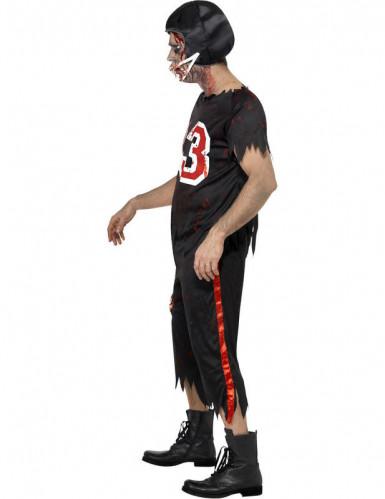 Déguisement zombie footballeur américain homme Halloween-2