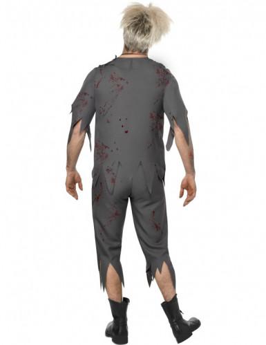 Déguisement zombie écolier homme Halloween-1