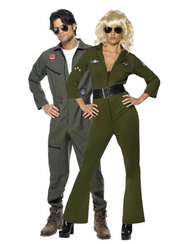 Déguisements couple aviateurs Top Gun™