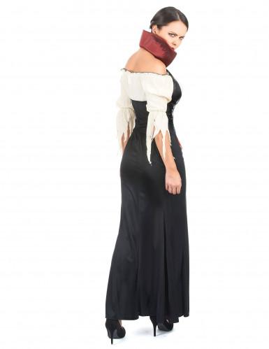 Déguisement vampire effet cuir femme-2