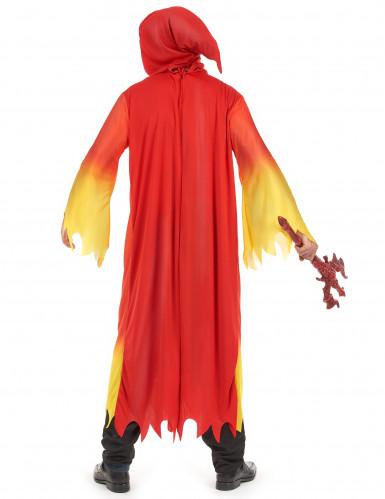 Déguisement diable flamboyant homme Halloween-2