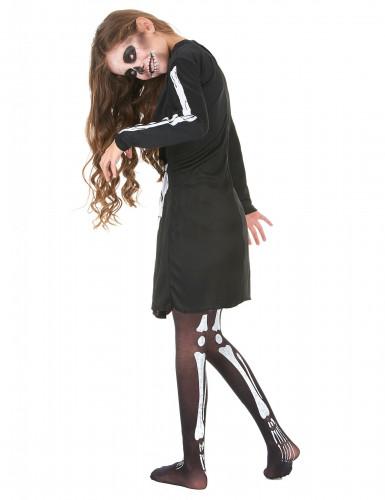Déguisement squelette fille Halloween-2