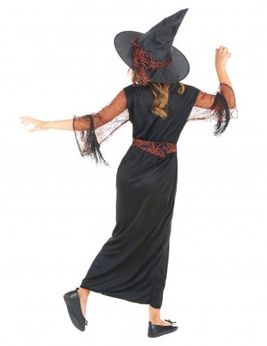 Déguisement sorcière noir fille Halloween-2