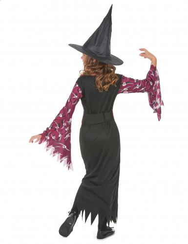 Déguisement sorcière avec chapeau fille Halloween-2