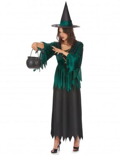 Déguisement sorcière gothique femme Halloween-1
