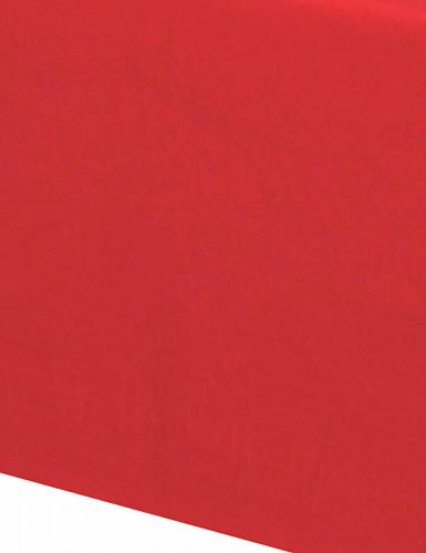 Nappe rouge en papier -1