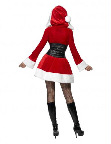Déguisement Mère Noël corset femme-1