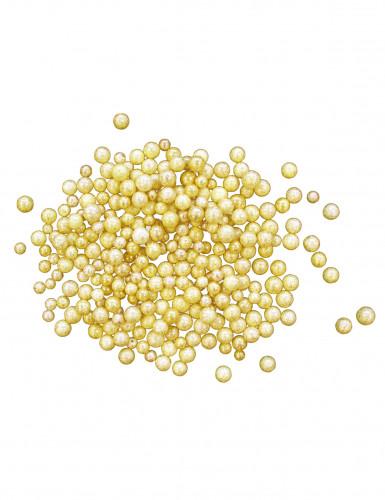 Oferta: Paquete de perlas doradas para Navidad