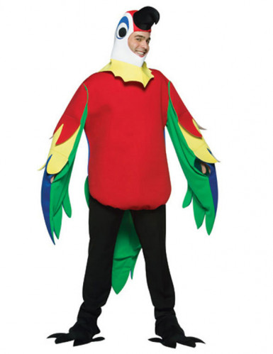 Déguisement perroquet adulte