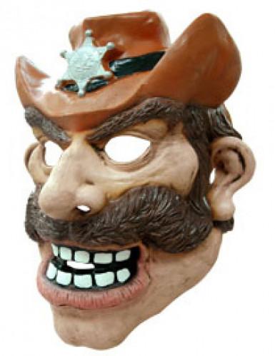 Masque cowboy adulte-1
