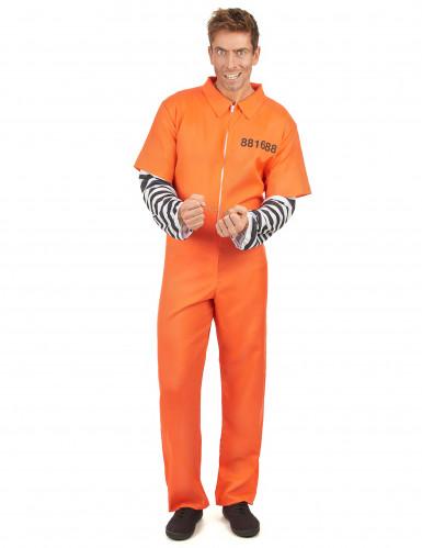 Déguisement prisonnier homme
