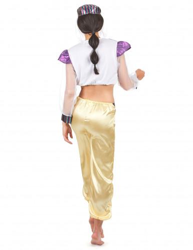 Déguisement danseuse orientale coloré femme-2