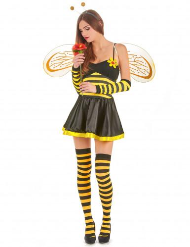 Déguisement abeille femme à fleur