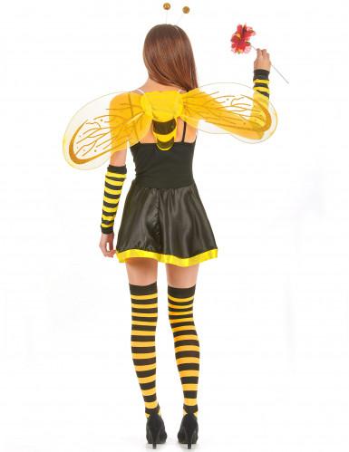 Déguisement abeille femme à fleur-2