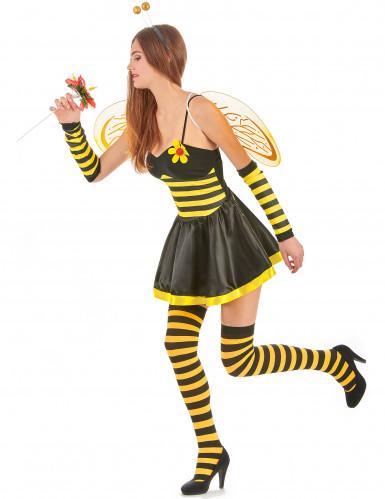 Déguisement abeille femme à fleur-1