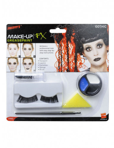 Kit maquillage gothique adulte Halloween-1