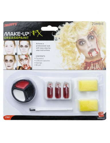 Kit maquillage zombie femme Halloween-1