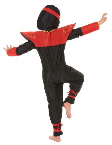 Déguisement ninja motifs dragons garçon-2
