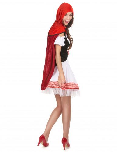 Déguisement chaperon rouge élégant femme-2