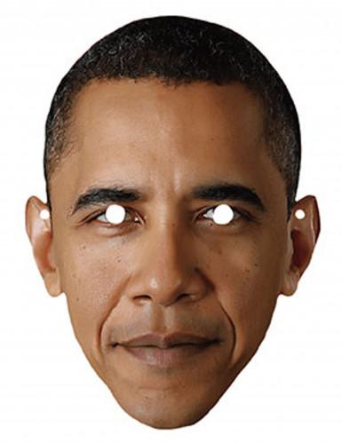 Masque carton Barack Obama