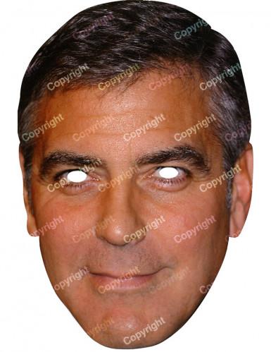 Masque carton George Clooney