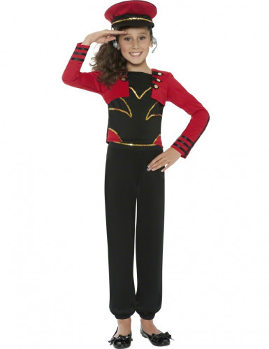 Star Military costume for girl