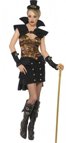 Déguisement vampire Steampunk femme