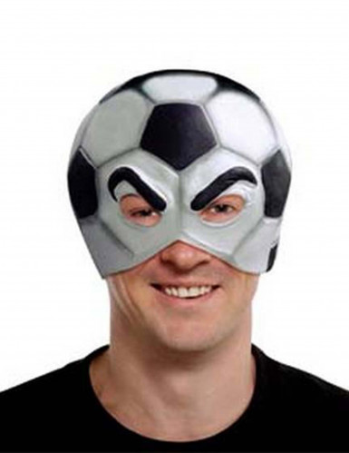 Masque ballon de football adulte