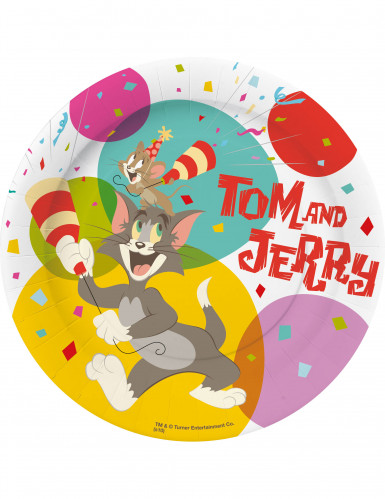 10 platos de postre Tom & Jerry?