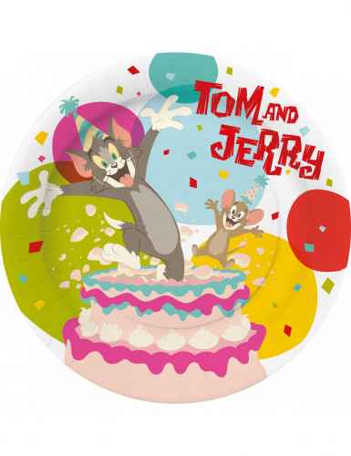 10 platos Tom & Jerry?