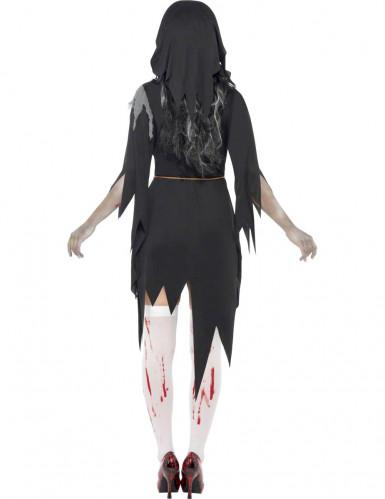 Déguisement zombie religieuse femme Halloween-2