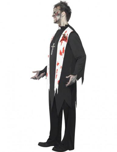 Déguisement zombie religieux homme Halloween-1