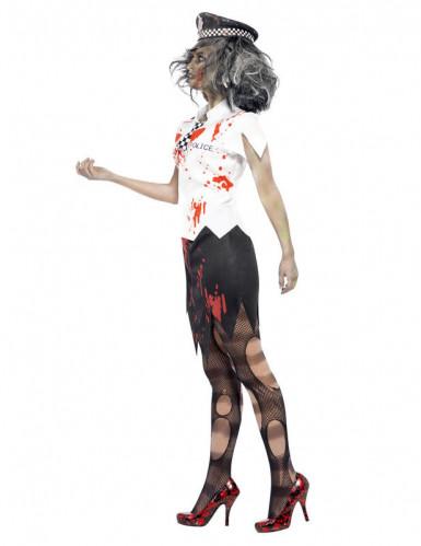 Déguisement zombie policière femme Halloween-1