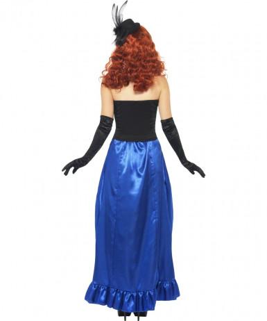 Déguisement cabaret squelette femme Halloween-1