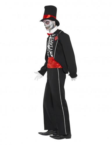 Déguisement gentleman squelette homme Halloween-2
