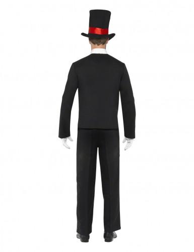 Déguisement gentleman squelette homme Halloween-1