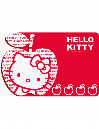 Hello Kitty Apple Table Set Decorations And Fancy Dress